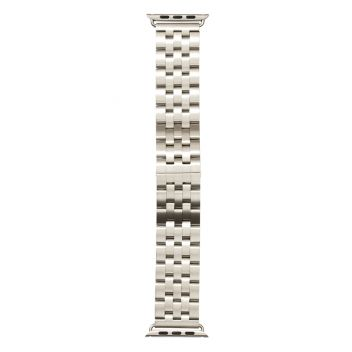 Купить РЕМЕШОК APPLE WATCH BAND 5-BEAD 42 / 44MM SILVER
