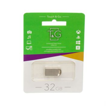 Купить USB FLASH DRIVE T&G 32GB METAL 107