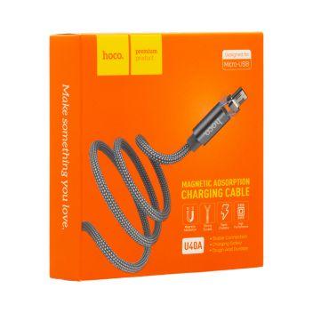 Купить USB HOCO U40A MAGNETIC ABSORPTION MICRO