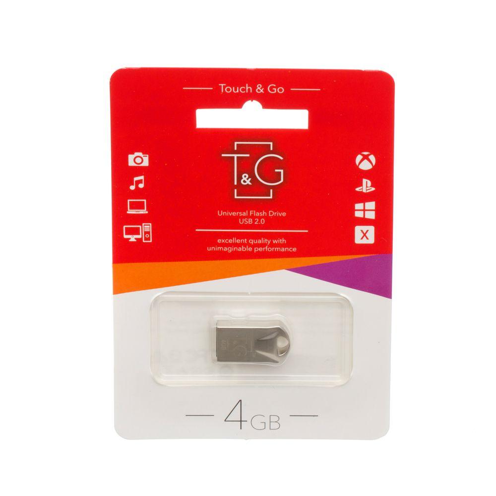 Купить USB FLASH DRIVE T&G 4GB METAL 106
