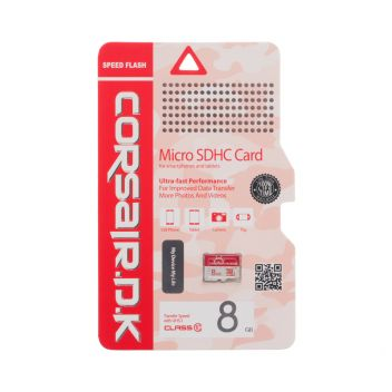 Купить КАРТА ПАМЯТИ CORSAIRDK MICROSDHC UHS-1 8GB