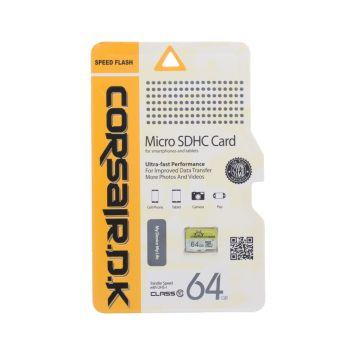 Купить КАРТА ПАМЯТИ CORSAIRDK MICROSDHC UHS-1 64GB 10 CLASS