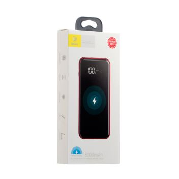 Купить POWER BANK BASEUS PPALL-EX FULL SCREEN WIRELESS CHARGING 8000 MAH