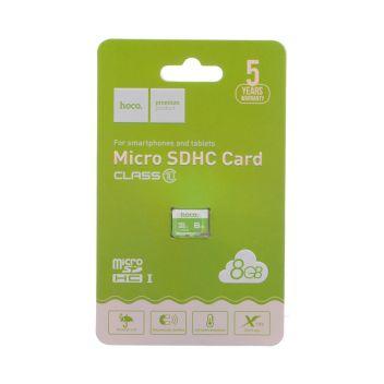 Купить КАРТА ПАМЯТИ HOCO MICROSDHC 8GB 10 CLASS