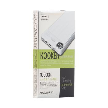 Купить POWER BOX REMAX RPP-87 KOOKER 10000 MAH
