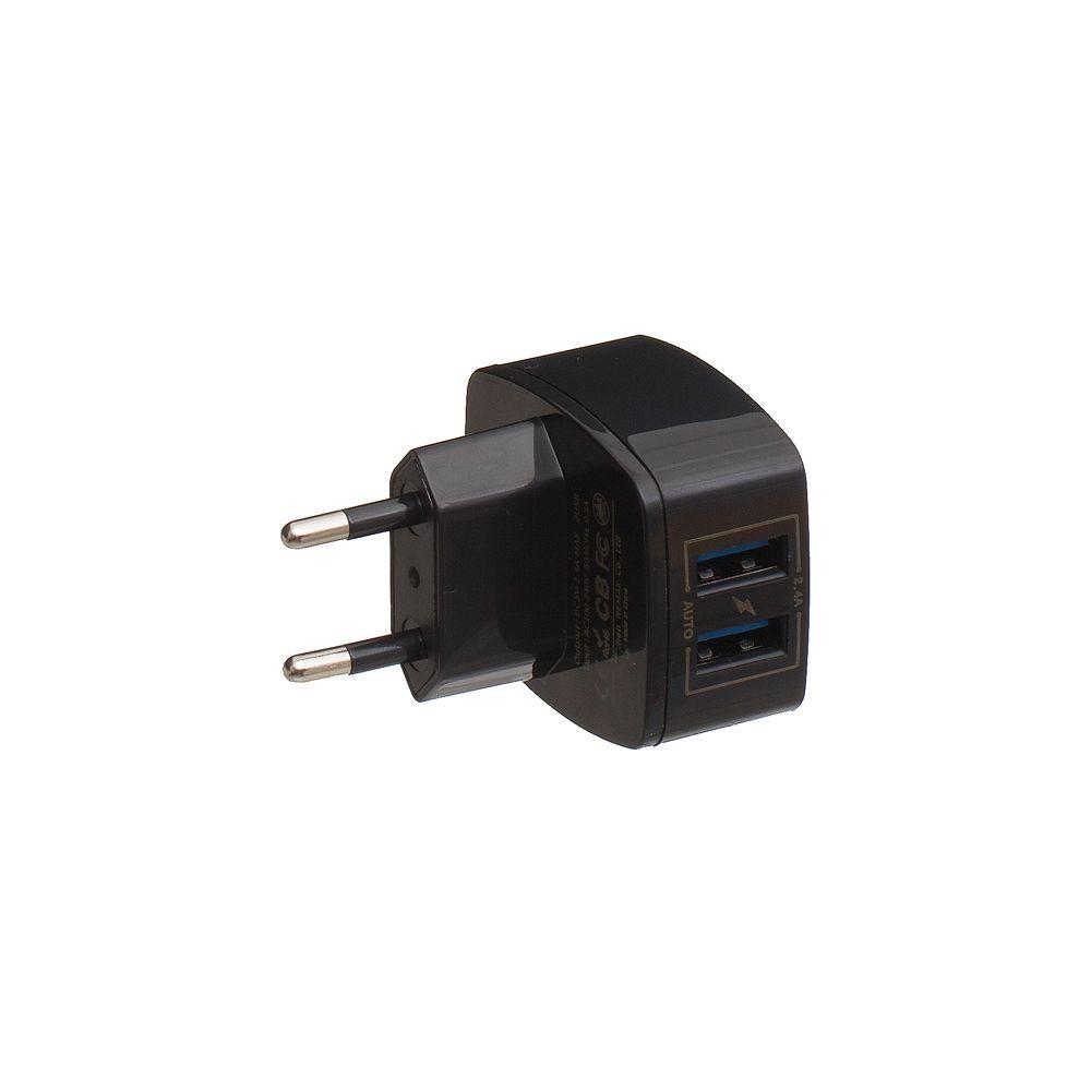 Купить СЕТЕВОЕ ЗАРЯДНОЕ УСТРОЙСТВО REMAX RP-U215 LIGHTNING 2 USB 2.4A_2