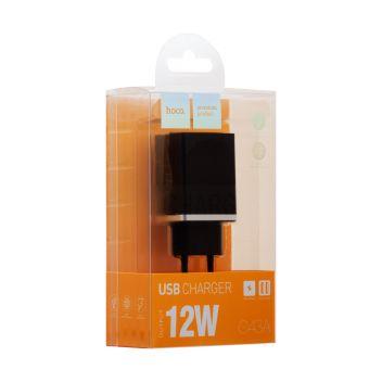 Купить СЕТЕВОЕ ЗАРЯДНОЕ УСТРОЙСТВО HOCO C43A VAST POWER 2 USB