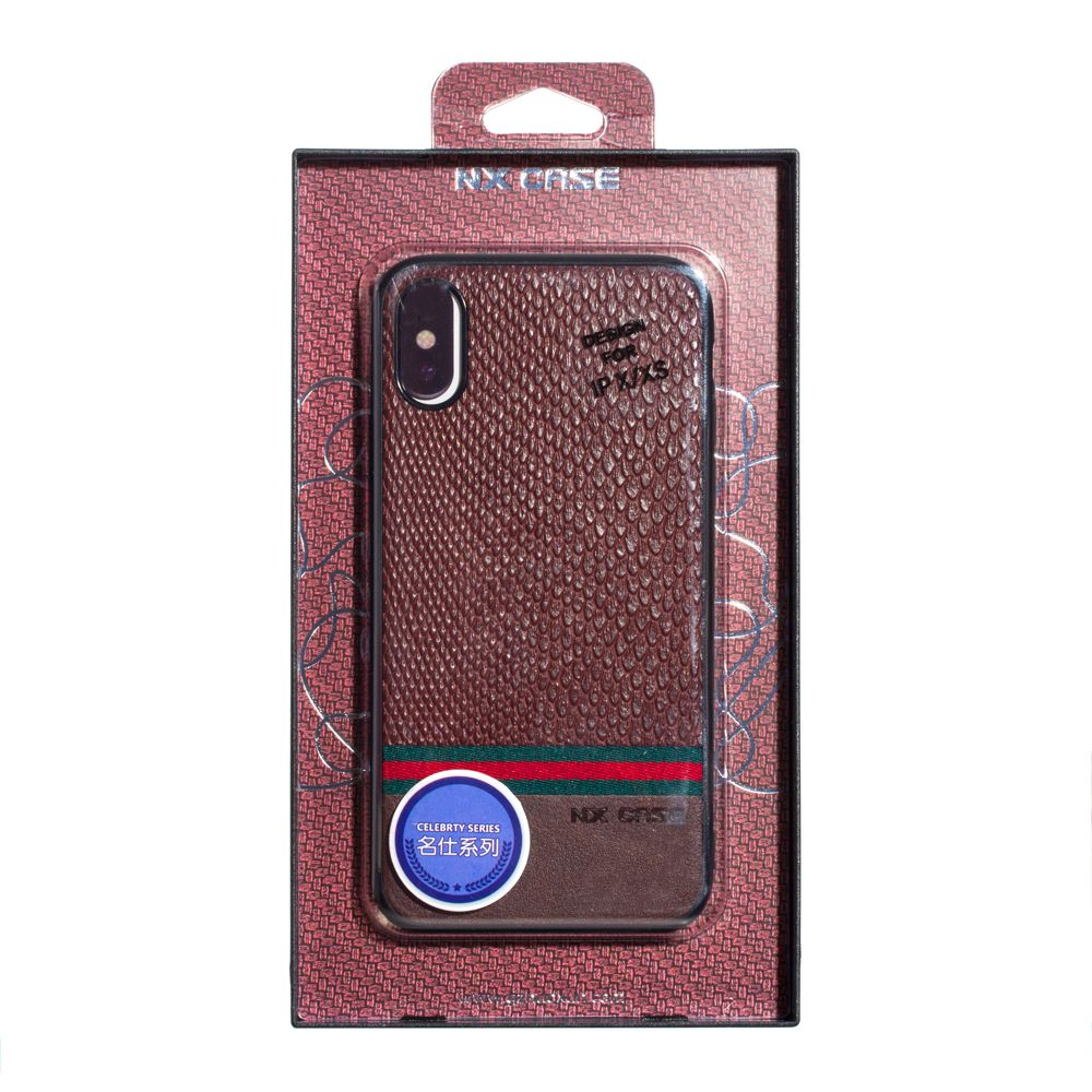 Купить ЗАДНЯЯ НАКЛАДКА ОРИГИНАЛ NX MINGSHI FOR APPLE IPHONE X / XS_5