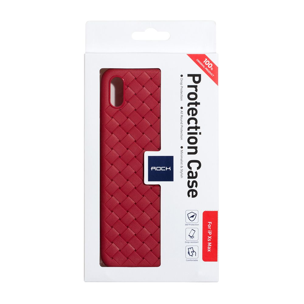 Купить СИЛИКОН ROCK WEAVE FOR APPLE IPHONE XS MAX_5