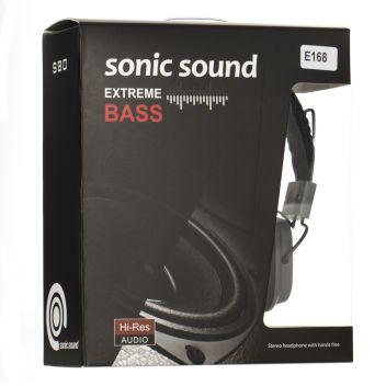 Купить НАУШНИКИ SONIC SOUND E168/MP3 AA