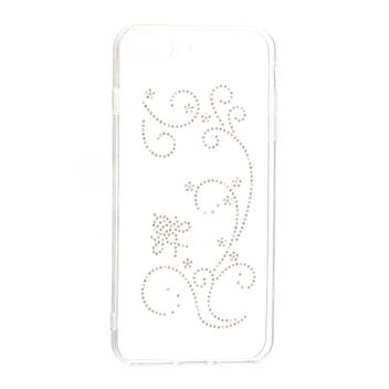 Купить СИЛИКОН UNIQUE SKID DRILLING FLOWERS SERIES FOR APPLE IPHONE 7 PLUS