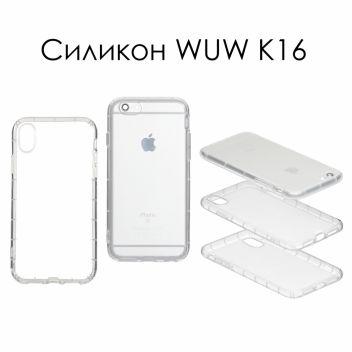 Купить СИЛИКОН WUW K16 SAMSUNG A730 A8 PLUS 2018