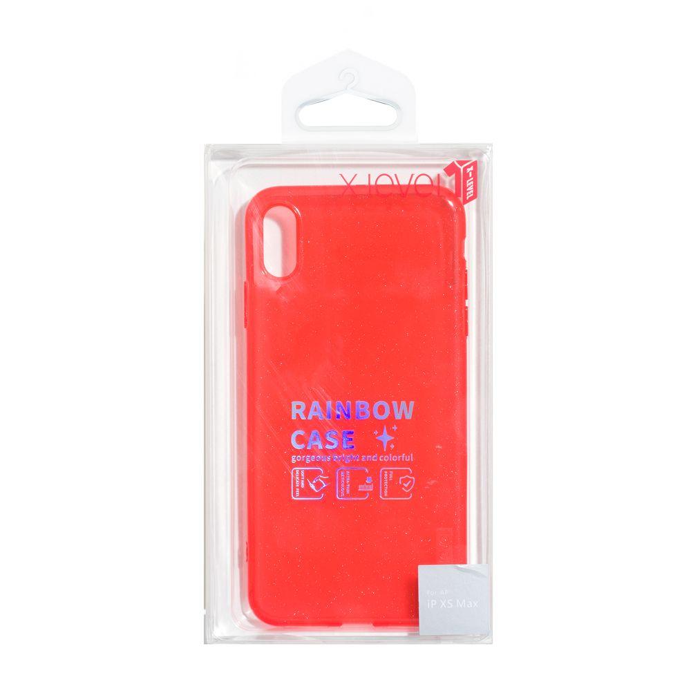 Купить ЧЕХОЛ X-LEVEL RAINBOW SHELL ДЛЯ APPLE IPHONE XS MAX