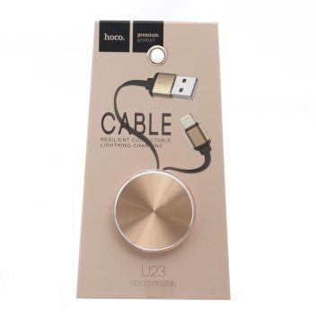 Купить USB HOCO U23 RESILIENT COLLECTABLE LIGHTNING