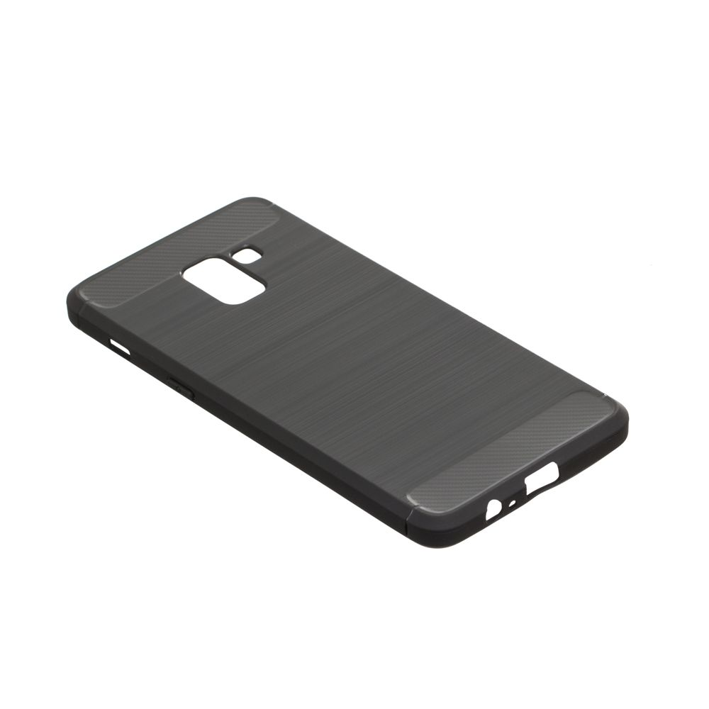 Купить СИЛИКОН POLISHED CARBON SAMSUNG A8 PLUS_2