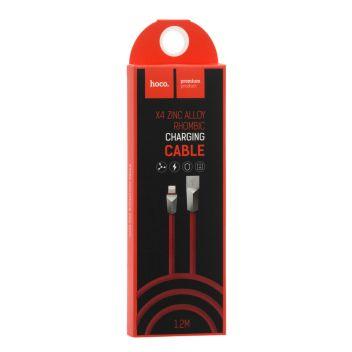 Купить USB HOCO X4 ZINC ALLOY LIGHTNING