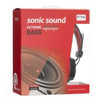Купить НАУШНИКИ SONIC SOUND E111/MIC AA
