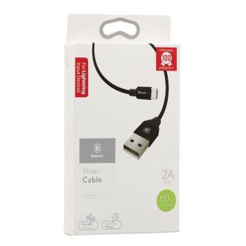 Купить USB BASEUS CALYW-B LIGHTNING 0.6M
