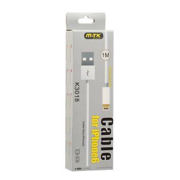 Купить USB MTK K3018 2A LIGHTNING 1M