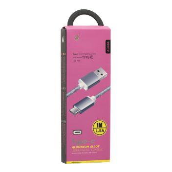 Купить USB MTK AU406 2A TYPE-C 1M
