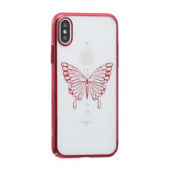 Купить СИЛИКОН SIMPLE BEAUTY BUTTERFLY SERIES FOR APPLE IPHONE X