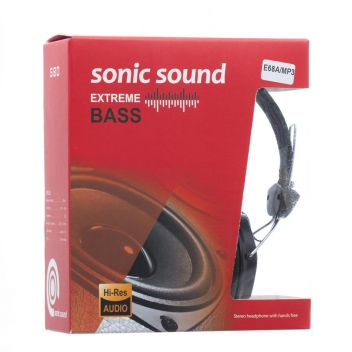 Купить НАУШНИКИ SONIC SOUND E68A/MP3 AA