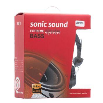 Купить НАУШНИКИ SONIC SOUND E68/MP3 AA