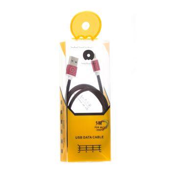 Купить USB WUW X-01 LIGHTNING / MICRO 1M