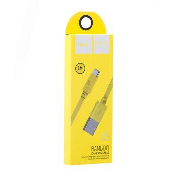 Купить USB HOCO X5 BAMBOO TYPE-C