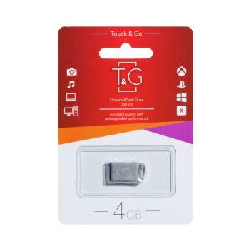 Купить USB FLASH DRIVE T&G 4GB METAL 105