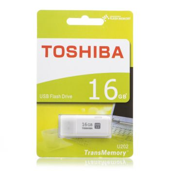 Купить USB FLASH DRIVE TOSHIBA 16GB SLIM
