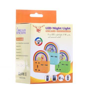 Купить УДЛИНИТЕЛЬ USB NIGHT LIGHT