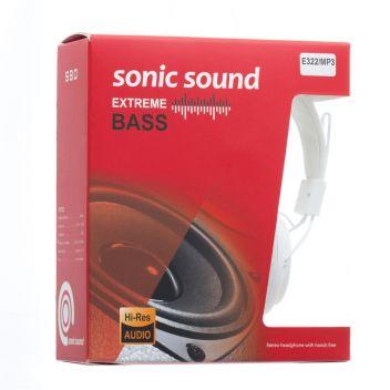 Купить НАУШНИКИ SONIC SOUND E322B/MP3 AA