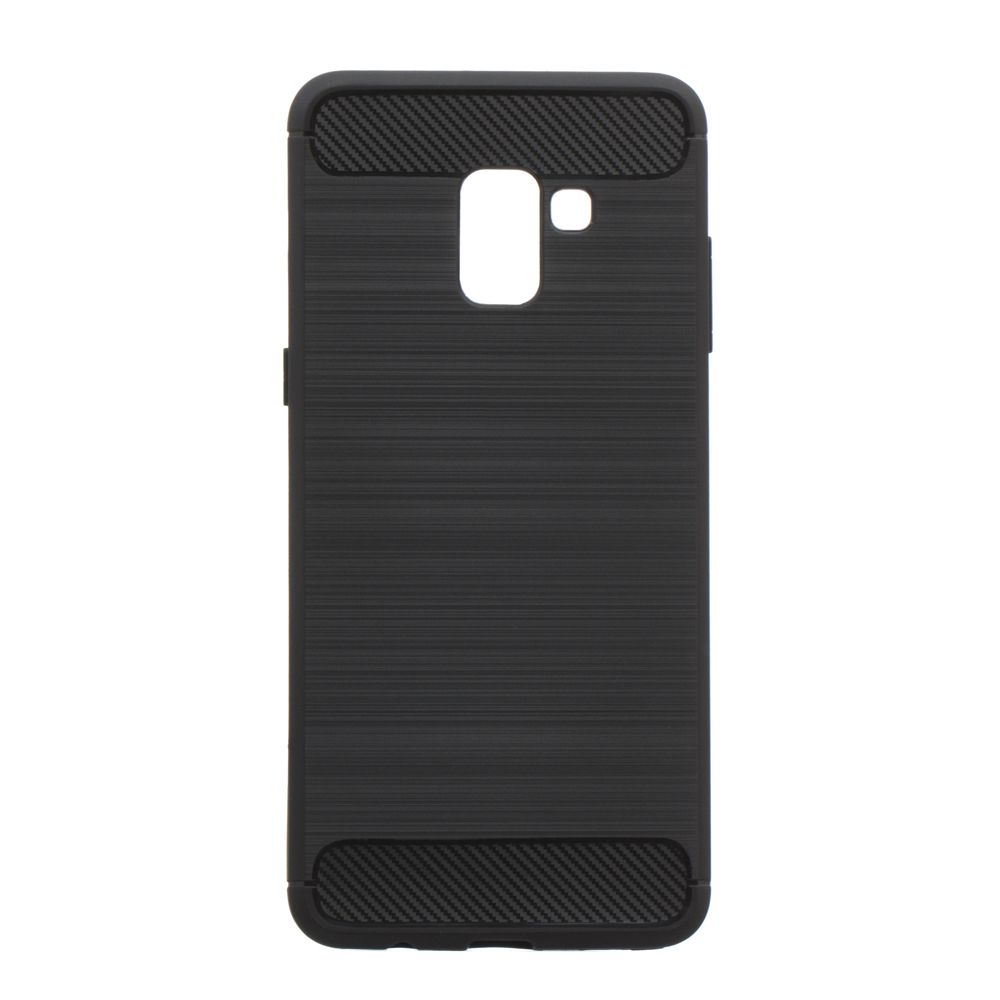 Купить СИЛИКОН POLISHED CARBON SAMSUNG A8 PLUS_1