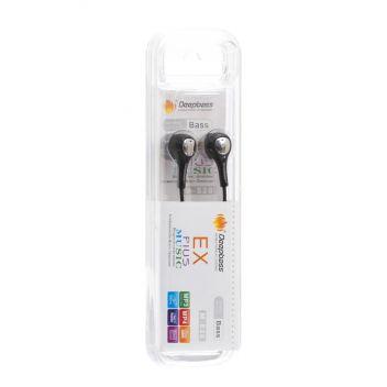 Купить НАУШНИКИ MP3 DEEPBASS M-630 NEW ТКАНЕВЫЙ ПРОВОД