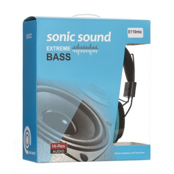 Купить НАУШНИКИ SONIC SOUND E110/MIC
