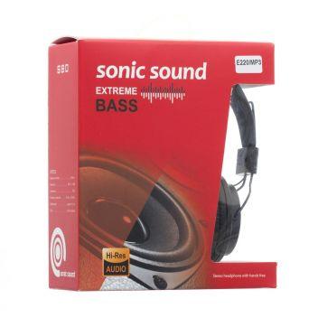 Купить НАУШНИКИ SONIC SOUND E220/MP3 AA