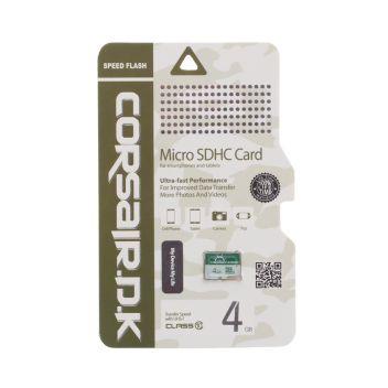 Купить КАРТА ПАМЯТИ CORSAIRDK MICROSDHC UHS-1 4GB 10 CLASS