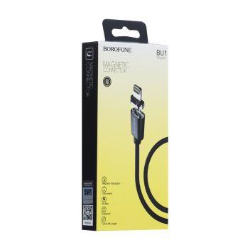 Купить USB BOROFONE BU1 MAG JET LIGHTNING