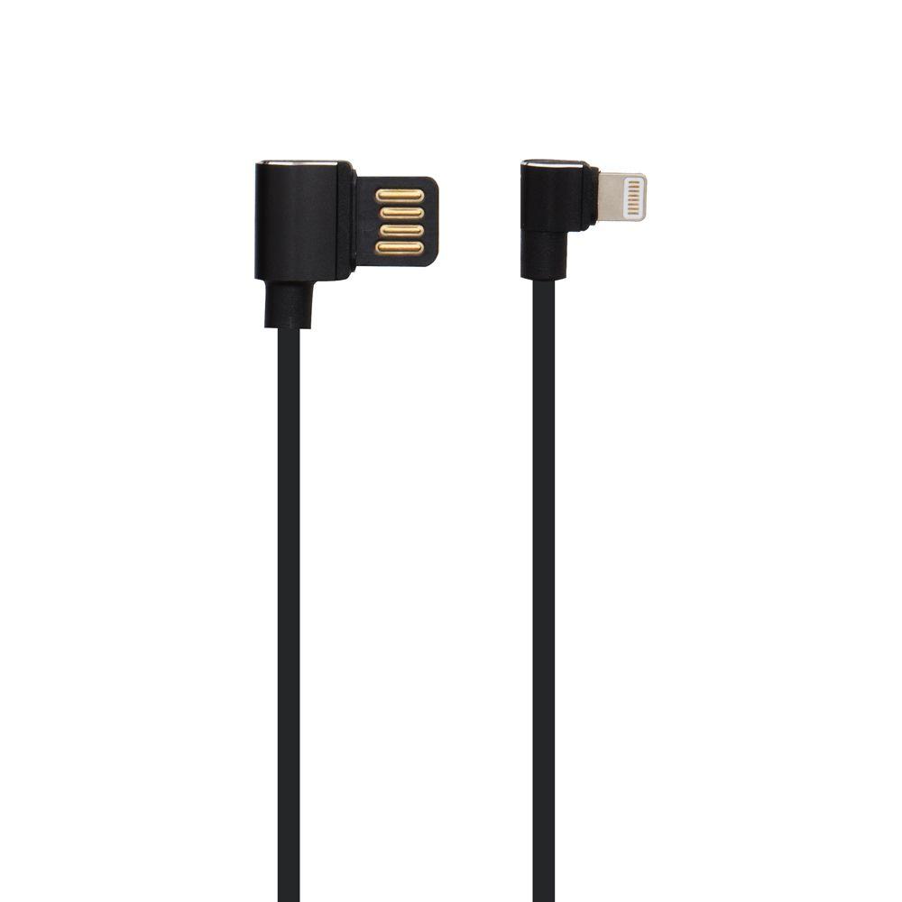 Купить USB HOCO U37 LONG ROAM LIGHTNING 2M_1