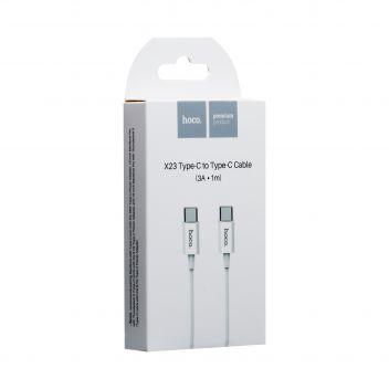Купить USB HOCO X23 SKILLED TYPE-C TO TYPE-C