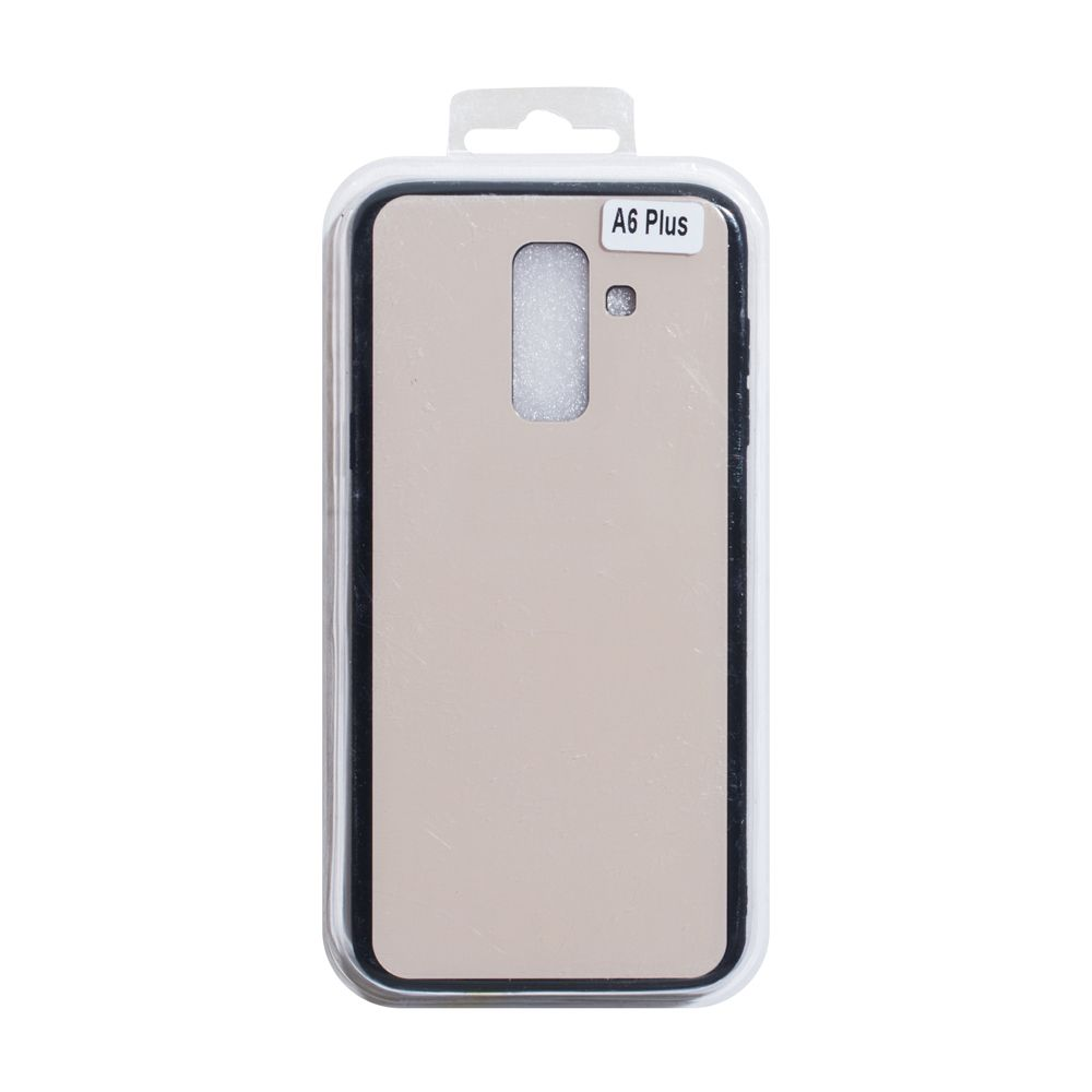 Купить СИЛИКОН CASE ORIGINAL GLASS FOR SAMSUNG A6 PLUS 2018_4