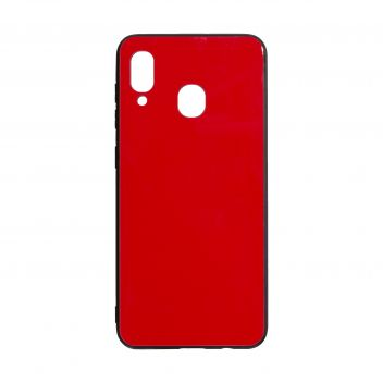 Купить СИЛИКОН CASE ORIGINAL GLASS FOR SAMSUNG A30 / A20