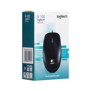Купить USB МЫШЬ LOGITECH B100