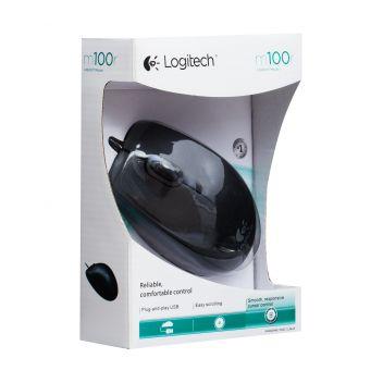 Купить USB МЫШЬ LOGITECH M100R