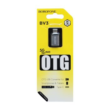 Купить OTG BOROFONE BV3 TYPE-C
