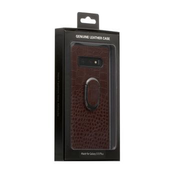 Купить ЧЕХОЛ GENUINE LEATHER CROCO FOR SAMSUNG S10 PLUS