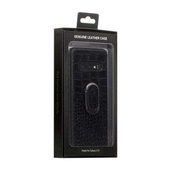 Купить ЧЕХОЛ GENUINE LEATHER CROCO FOR SAMSUNG S10