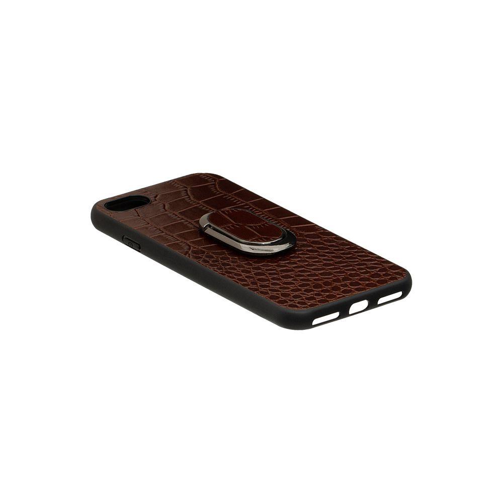 Купить ЗАДНЯЯ НАКЛАДКА GENUINE LEATHER CROCO FOR APPLE IPHONE 8G_3