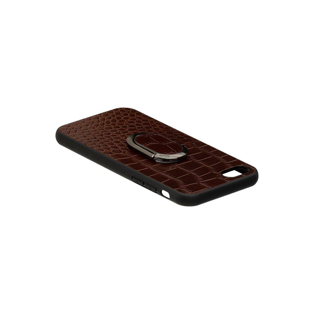 Купить ЗАДНЯЯ НАКЛАДКА GENUINE LEATHER CROCO FOR APPLE IPHONE 8G_4